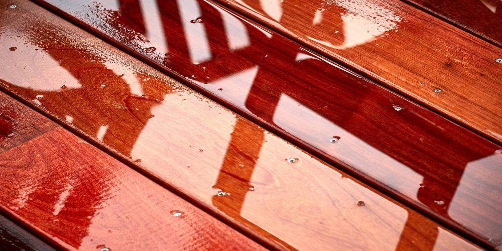 Etranges couleurs de ma terrasse