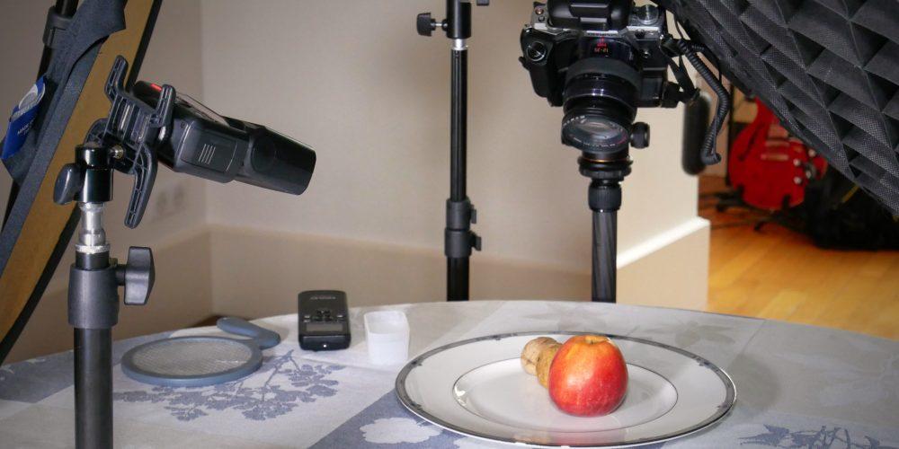 *** Session de Photos autour d'une Assiette ***